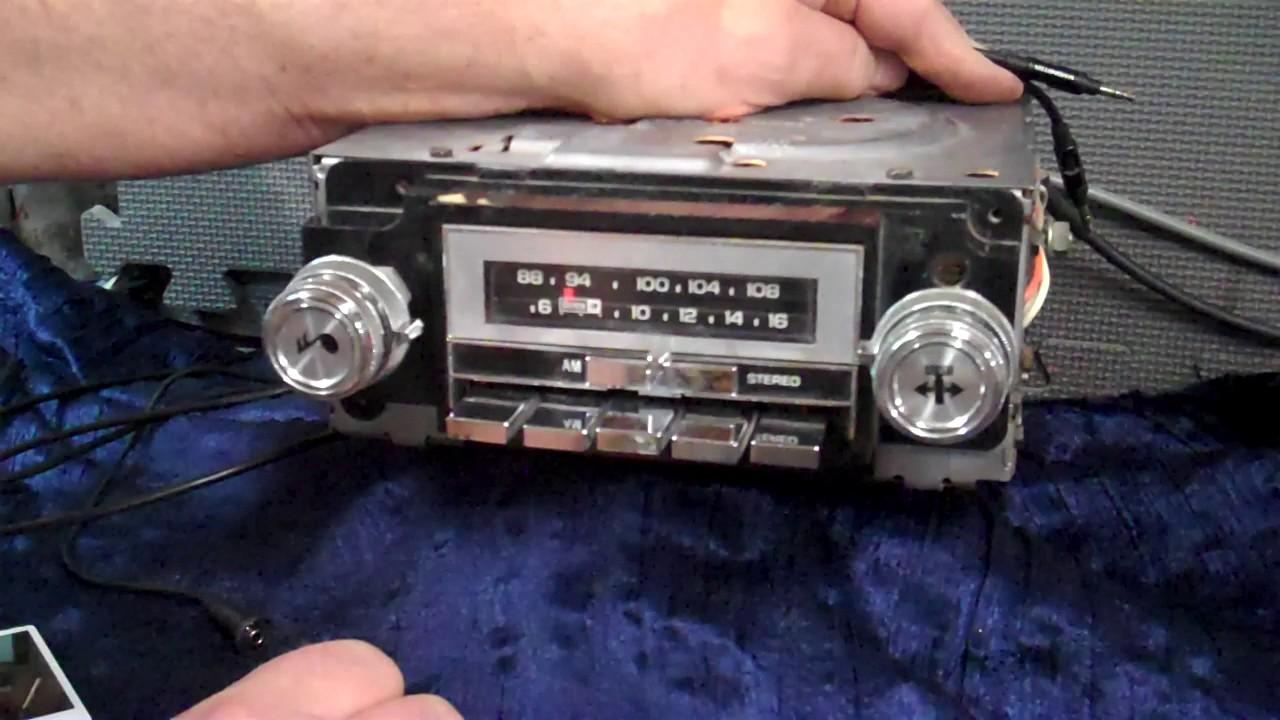 1985 Chevrolet K10 original Delco AM/FM radio - YouTube