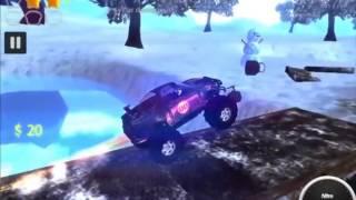 Синяя ГОНОЧНАЯ машина  Игры гонки на машинах  Гонки мультики  Игры машинки