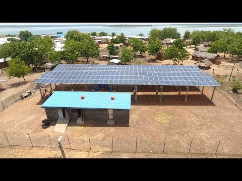 Solar-Powered Mini-Grids Bring Security and New Economic Opp