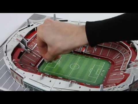 Puzzle 3D Stadion Emirates Stadium Arsenal FC Trefl Nanostad