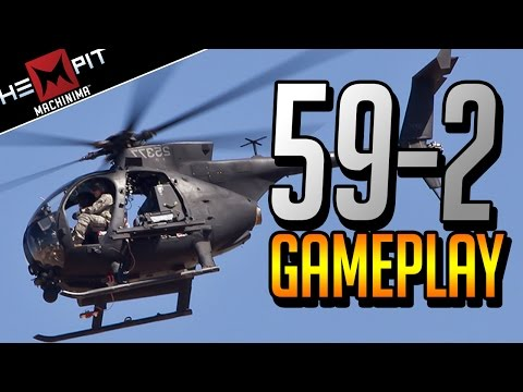 BF3 PS3 Littlebird Gameplay 59-2 Helicopter Pro Player [HD]