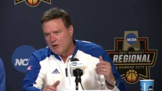 Elite Eight preview press conference // Kansas Basketball // 3.24.17