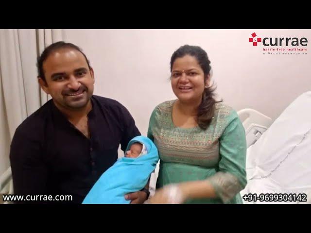 Mrs. Reetika Shrivastav | Birthing | Dr. Vidya Shetty | Currae Hospitals