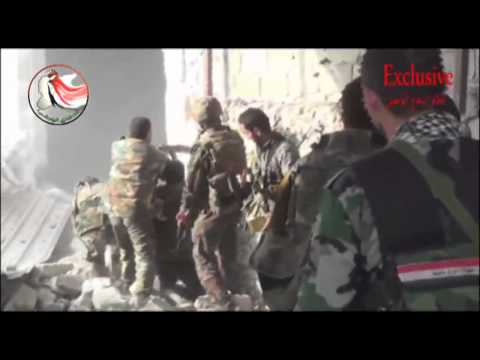 Армяне добровольцы штурмуют квартала в Алеппо