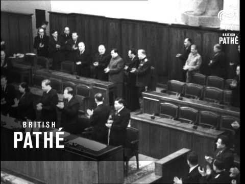 Soviet Supreme Council Meets (1949)