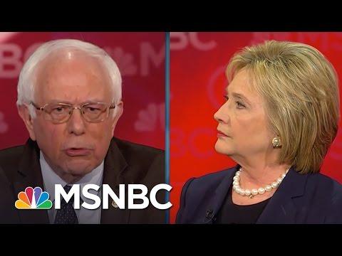 Bernie Sanders: Money In Politics Ruins Democracy | Democratic Debate | MSNBC