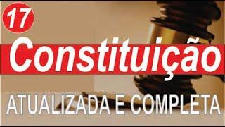 Constituição Federal educação - Art 134 a 143