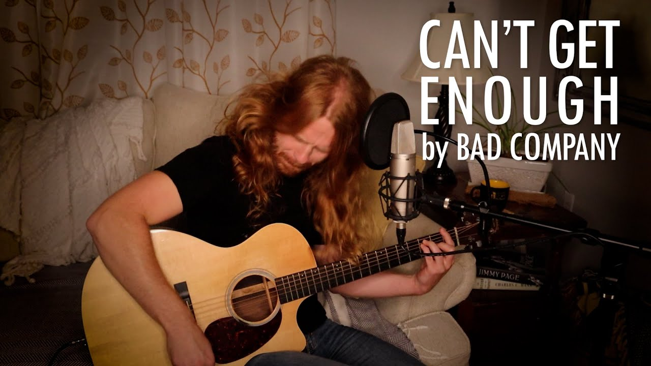 """Can't Get Enough"" by Bad Company - Adam Pearce (Acoustic Cover)"