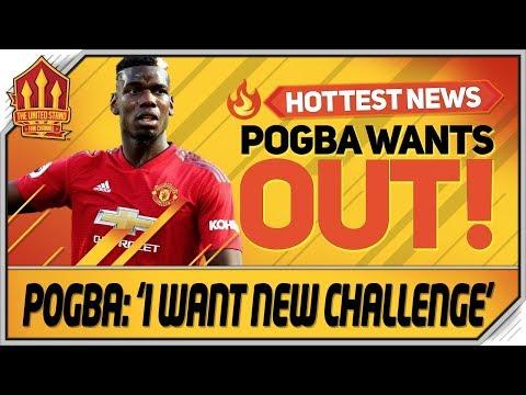 Pogba Confirms Man Utd Exit! Man Utd Transfer News