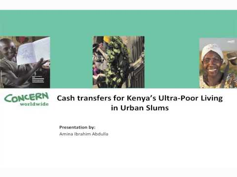 Urban webinar: Cash Programming in Urban Areas - What's New?