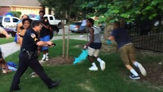 Pulling a Gun on a Pool Party? Texas Cop Suspended After Manhandling Bikini-Clad Black Teen