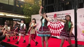 2018/5/3 天神ソラリア 博多どんたく 天神ソラリア演舞台.