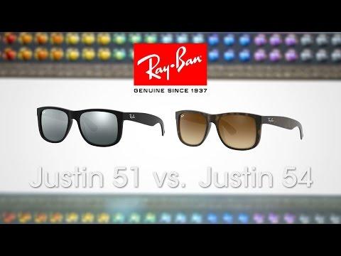 Ray-Ban Justin 51 vs. 54 | SportRx