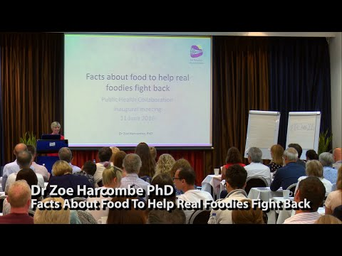 Dr Zoe Harcombe PhD Facts About Food To Help Real Foodies Fight Back