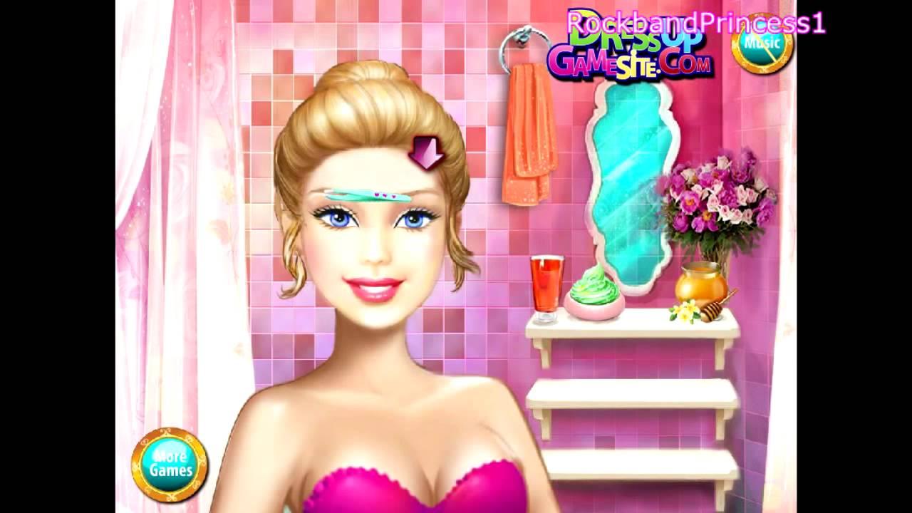 Barbie Games Barbie Real Makeover Game