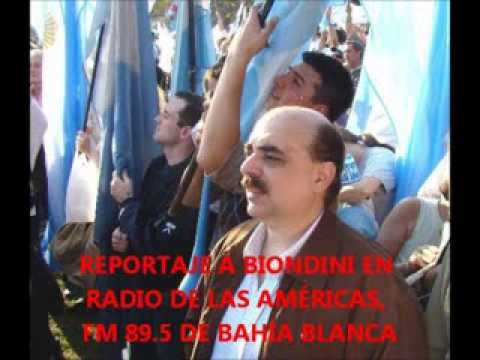 Reportaje a Alejandro Biondini en Radio de las Américas (FM 89.5) -- 4/2/2014