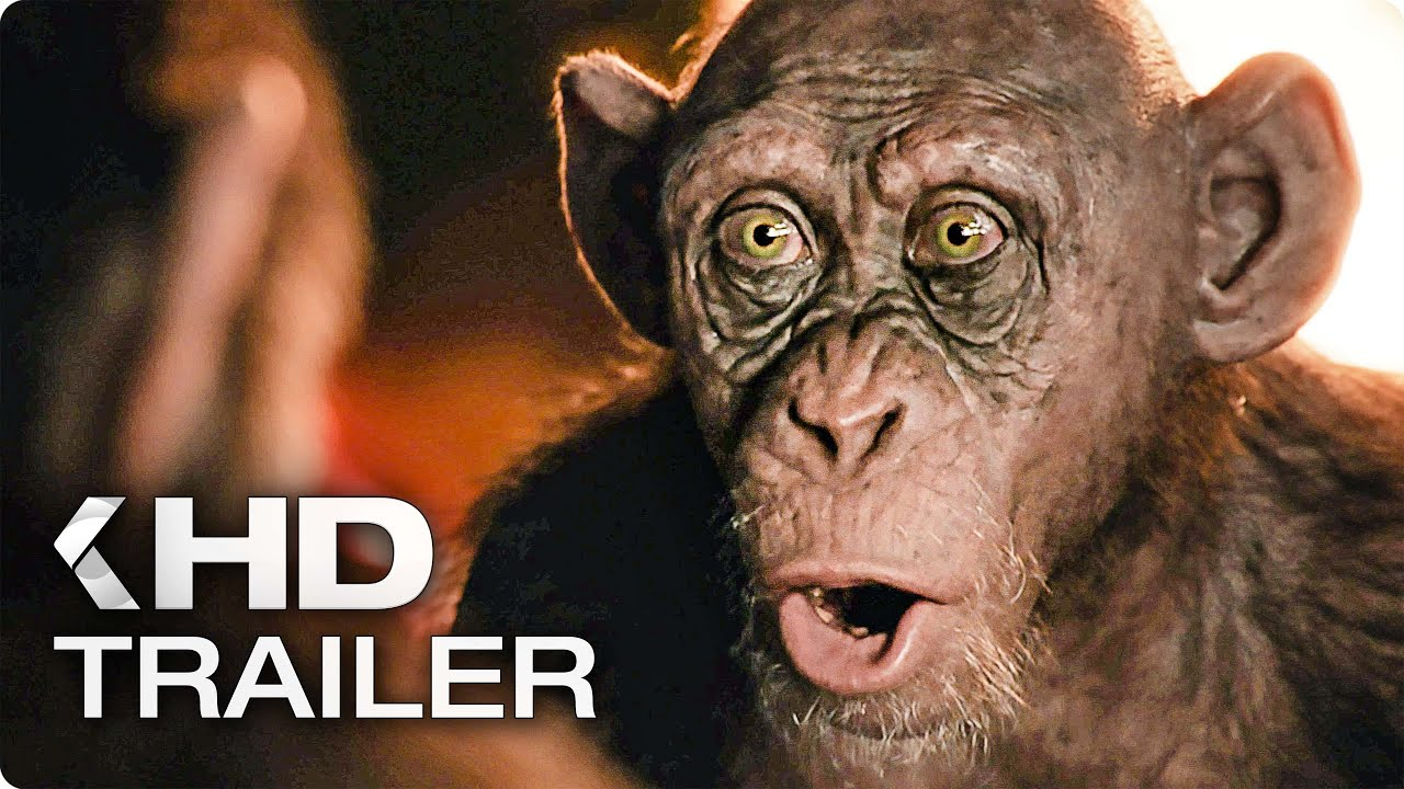 "WAR FOR THE PLANET OF THE APES ""Bad Ape"" Clip & Trailer (2017)"