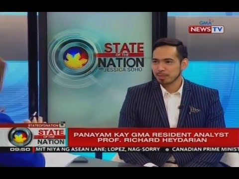Richard Heydarian interview w/ Jessica Soho on ASEAN Summit