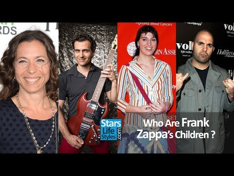 Who Are Frank Zappa's Children ? [2 Daughters And 2 Sons] | The Mothers of Invention