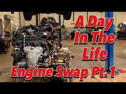A Day In The Life - Engine Swap Pt.1 - Engine Removal