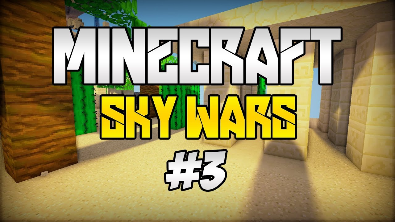 Minecraft: SKY WARS [#3] - Płyną piraci! :D - YouTube