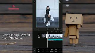 Download lagu Cara Edit Video Jedag Jedug Lagu Sholawat Yang Viral di Tiktok Terbaru | CapCut