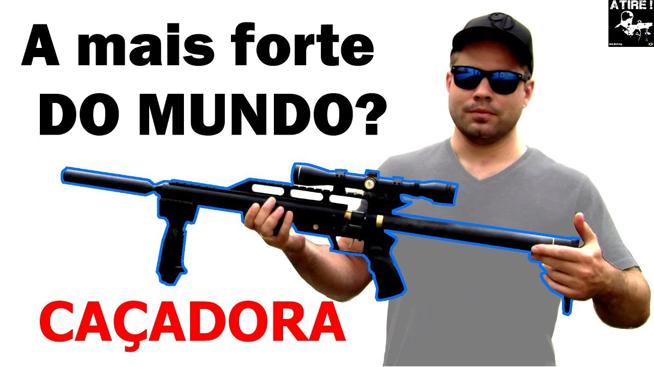 Arma de pressão mais potente DO MUNDO em 5.5??? (World's most powerful .22 airgun???)