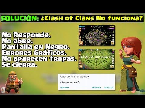 Solución: Clash of Clans ¿NO FUNCIONA? Se Cierra, No Abre, Pantalla en Negro, Reparar Android