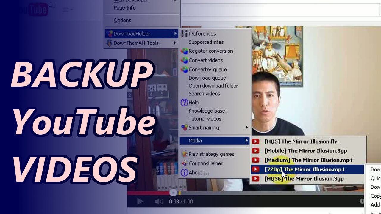 How to save Online Videos to local Drive
