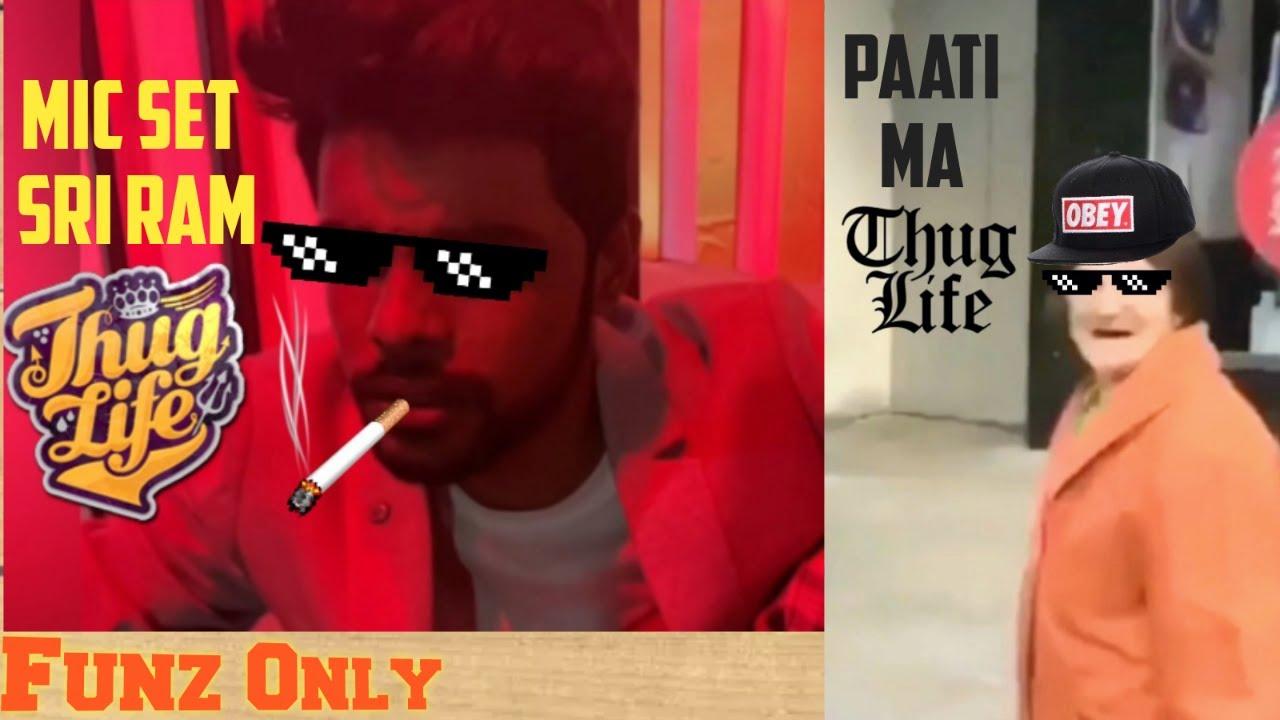 Mic set Sri Ram - THUG LIFE   Animals thug life   and more real life funny wasted moments Funz Only 