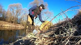 Весенняя рыбалка в Подмосковье на реке Десна походу рыба как и мы на самоизоляции