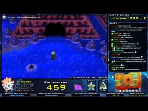 LIVE Shiny Staryu (460) Water DexNav in Pokemon ORAS