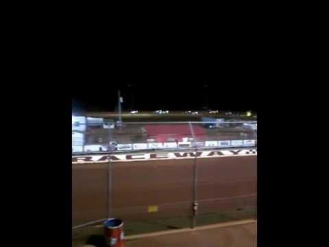 Swainsboro Raceway 7/15/17 Zaxby crate late models