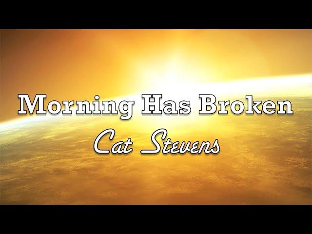Der Goldene Morgen ist gekommen als wäre es der allererste Morgen