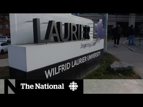 Wilfrid Laurier University's free speech controversy