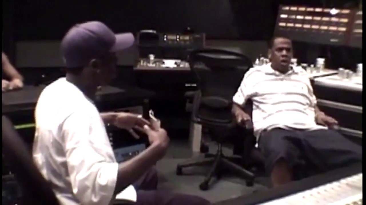 JAY Z & Puff Daddy Studio Session Never Seen Before