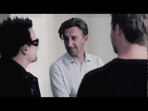 Behind the Scenes: John Wright shooting U2 for Q Magazine