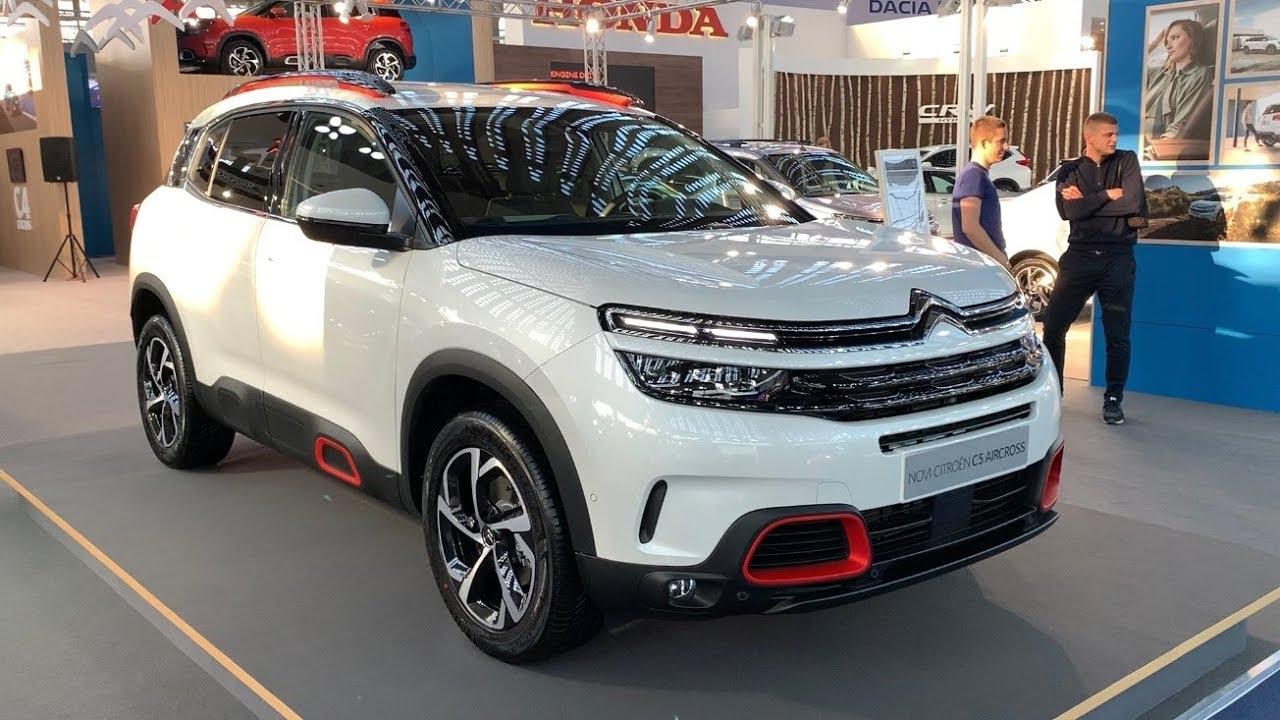 citroen c5 aircross 2019 suv in depth full review shine 1 5 blue hdi youtube. Black Bedroom Furniture Sets. Home Design Ideas