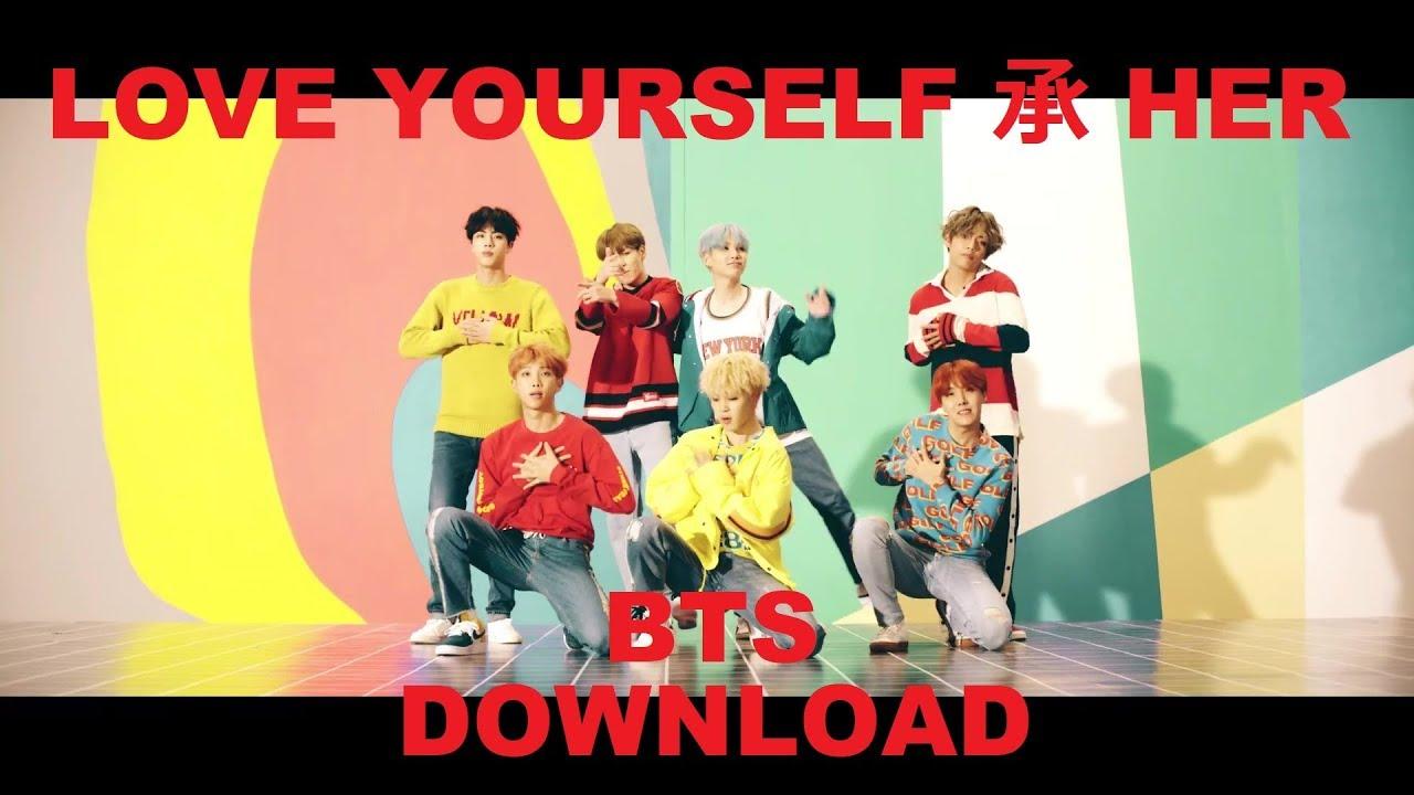 BTS Album LOVE YOURSELF 承 HER + Hidden Tracks (Download Link in the  Description)