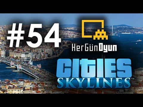 Cities: Skylines İstanbul - 54. Bölüm [Arzular Şelale]