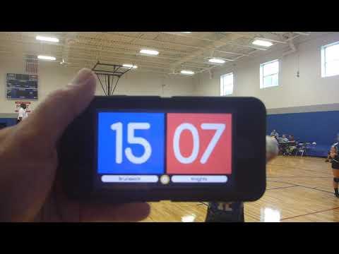 SCA Knights Varsity vs Brunswick Academy 8 2019