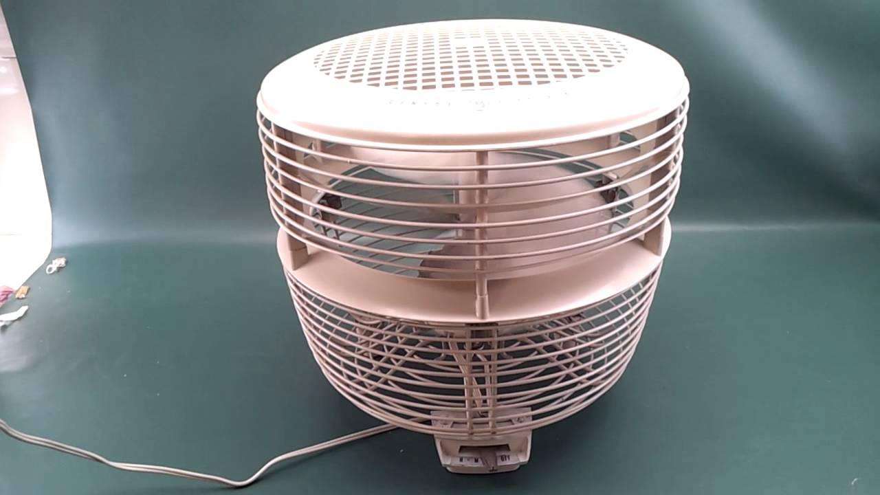 fan on sale. vintage general electric ge off-white 3 speed floor hassock foot stool fan for sale on ebay