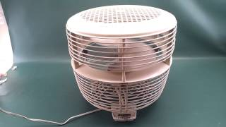 Vintage General Electric Ge Off-white 3 Speed Floor Hassock Foot Stool Fan For Sale On Ebay