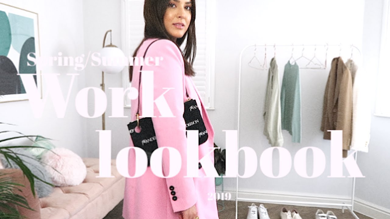 SPRING/SUMMER INTERCHANGEABLE WORKWEAR OUTFITS!!! 5