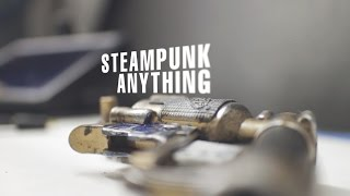 How To Steampunk Anything - Nerf Gun