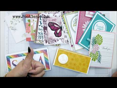 Stampin' Up! Cards in the Mail to Me! October - วันที่ 13 Oct 2018