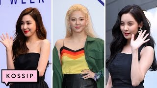 Video Tiffany, Hyoyeon & Seohyun SLAY Front Row at Seoul Fashion Week   Kossip News download MP3, 3GP, MP4, WEBM, AVI, FLV Agustus 2018
