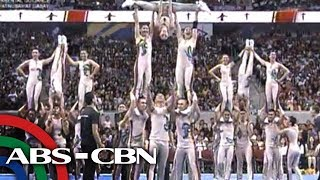 UP cheerdancers shave heads for 3-peat bid