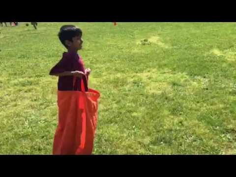 Safiyah & Ayaan's Field day at Knollwood School 6-2-17 (3)