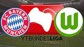 VFL WOLFSBURG vs. FC BAYERN MÜNCHEN - YOUTUBE BUNDESLIGA   6.SPIELTAG ◄WOB #06►